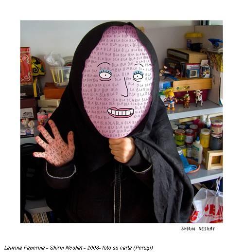 Laurina Paperina - Shirin Neshat - 2008- foto su carta (Perugi)