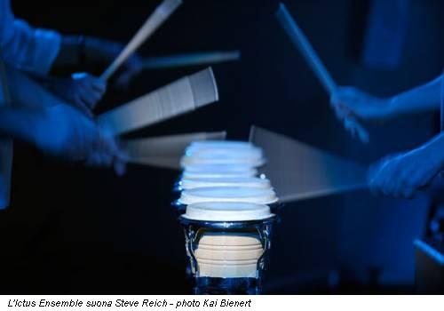 L'Ictus Ensemble suona Steve Reich - photo Kai Bienert