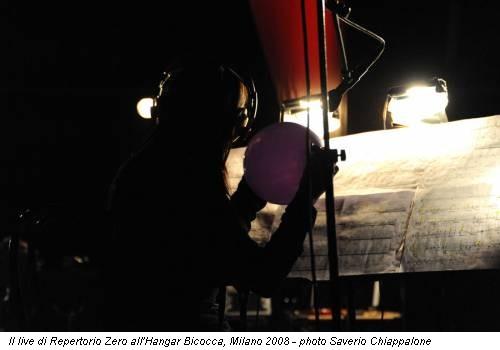 Il live di Repertorio Zero all'Hangar Bicocca, Milano 2008 - photo Saverio Chiappalone