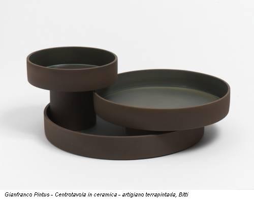 Gianfranco Pintus - Centrotavola in ceramica - artigiano terrapintada, Bitti