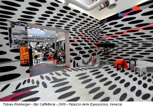 Tobias Rehberger - Bar Caffetteria - 2009 - Palazzo delle Esposizioni, Venezia