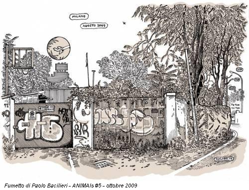 Fumetto di Paolo Bacilieri - ANIMAls #5 - ottobre 2009