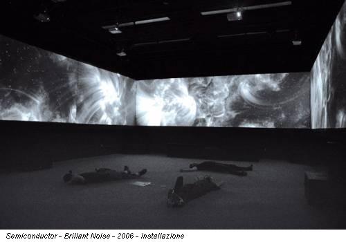 Semiconductor - Brillant Noise - 2006 - installazione