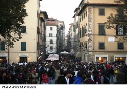 Folla a Lucca Comics 2008