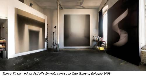 Marco Tirelli, veduta dell'allestimento presso la Otto Gallery, Bologna 2009