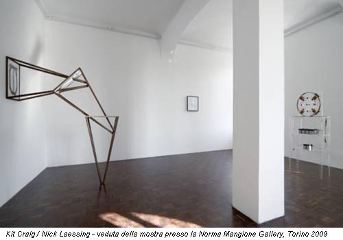 Kit Craig / Nick Laessing - veduta della mostra presso la Norma Mangione Gallery, Torino 2009