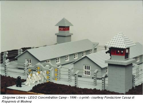 Zbigniew Libera - LEGO Concentration Camp - 1996 - c-print - courtesy Fondazione Cassa di Risparmio di Modena