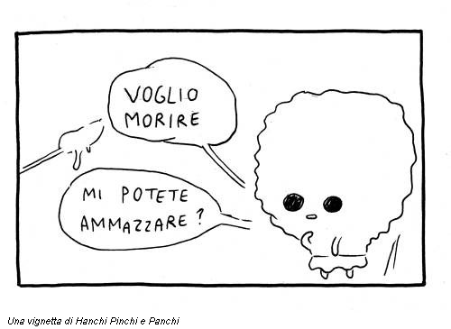 Una vignetta di Hanchi Pinchi e Panchi