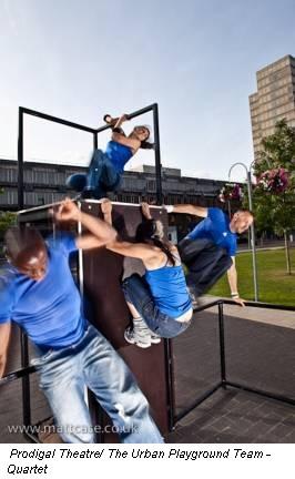 Prodigal Theatre/ The Urban Playground Team - Quartet