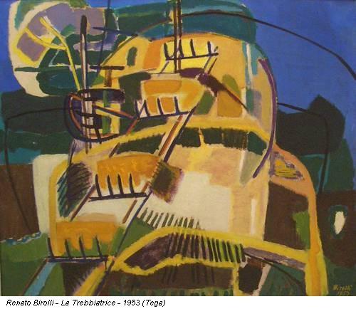 Renato Birolli - La Trebbiatrice - 1953 (Tega)