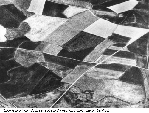 Mario Giacomelli - dalla serie Presa di coscienza sulla natura - 1954 ca.