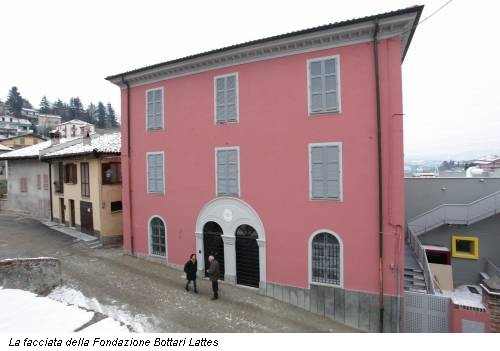 La facciata della Fondazione Bottari Lattes