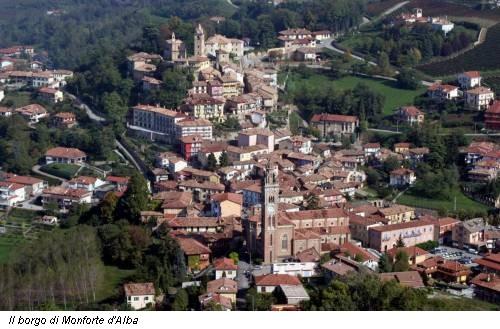 Il borgo di Monforte d'Alba