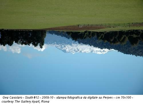 Gea Casolaro - South #12 - 2008-10 - stampa fotografica da digitale su Perpex - cm 70x100 - courtesy The Gallery Apart, Roma