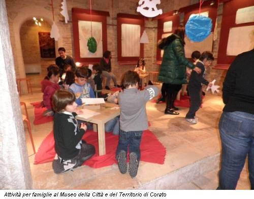 Attività per famiglie al Museo della Città e del Territorio di Corato