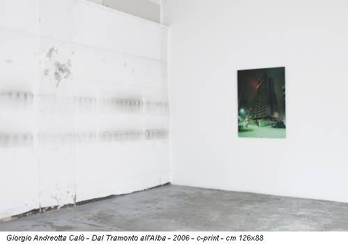Giorgio Andreotta Calò - Dal Tramonto all'Alba - 2006 - c-print - cm 126x88