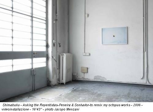 Shimabuku - Asking the Repentistas-Peneira & Sonhador-to remix my octopus works - 2006 - videoinstallazione - 16'43'' - photo Jacopo Menzani