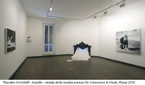 Thorsten Kirchhoff - Insolito - veduta della mostra presso De Crescenzo & Viesti, Roma 2010
