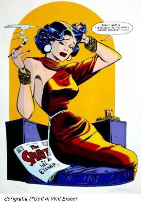 Serigrafia P'Gell di Will Eisner
