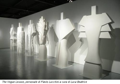 The Vogue Lesson, personale di Flavio Lucchini a cura di Luca Beatrice