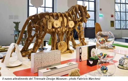 Il nuovo allestimento del Triennale Design Museum - photo Fabrizio Marchesi