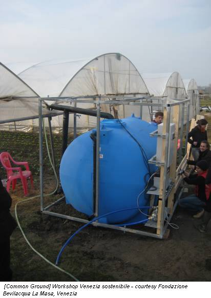 [Common Ground] Workshop Venezia sostenibile - courtesy Fondazione Bevilacqua La Masa, Venezia