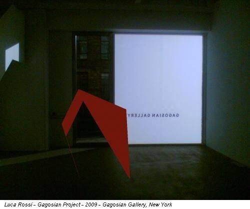 Luca Rossi - Gagosian Project - 2009 - Gagosian Gallery, New York