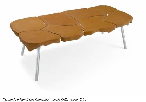 Fernando e Humberto Campana - tavolo Cotto - prod. Edra