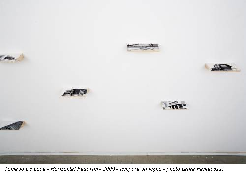 Tomaso De Luca - Horizontal Fascism - 2009 - tempera su legno - photo Laura Fantacuzzi