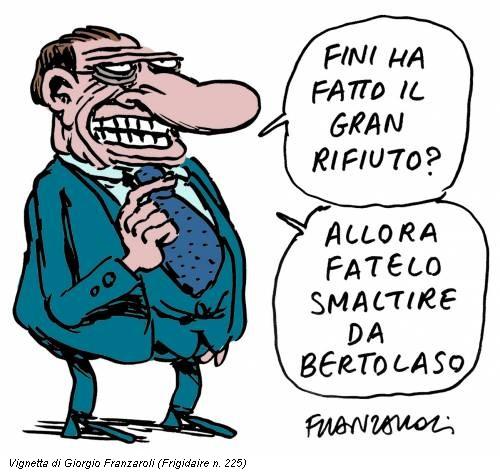 Vignetta di Giorgio Franzaroli (Frigidaire n. 225)