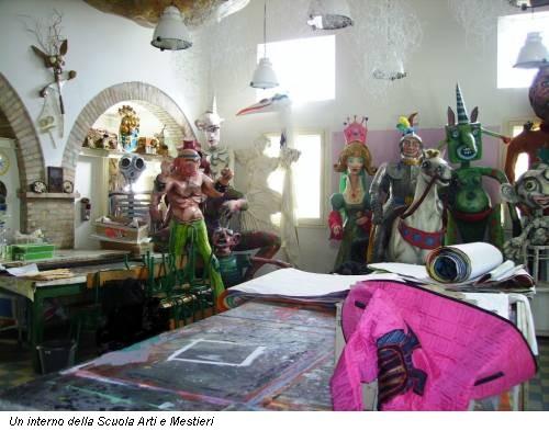 Un interno della Scuola Arti e Mestieri