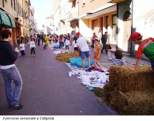 Il percorso sensoriale a Cotignola