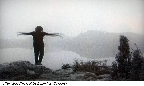 Il Tentativo di volo di De Dominicis (Sperone)