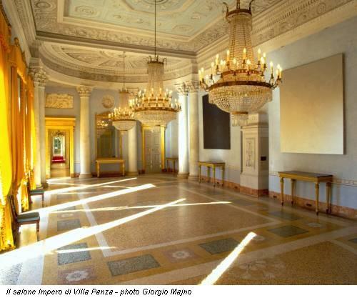 Il salone Impero di Villa Panza - photo Giorgio Majno