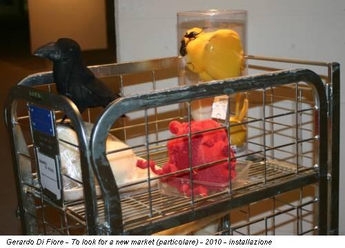 Gerardo Di Fiore - To look for a new market (particolare) - 2010 - installazione