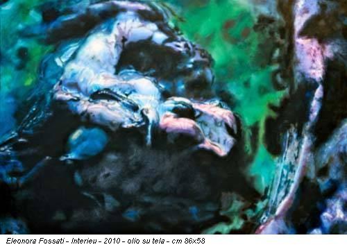 Eleonora Fossati - Interieu - 2010 - olio su tela - cm 86x58