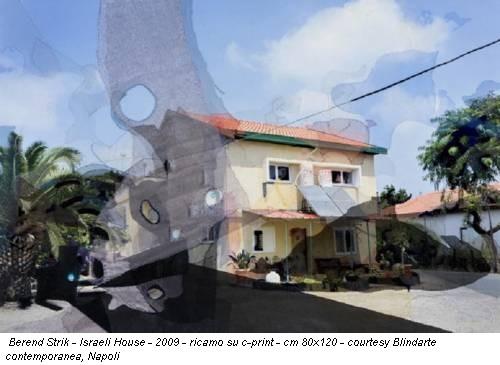 Berend Strik - Israeli House - 2009 - ricamo su c-print - cm 80x120 - courtesy Blindarte contemporanea, Napoli