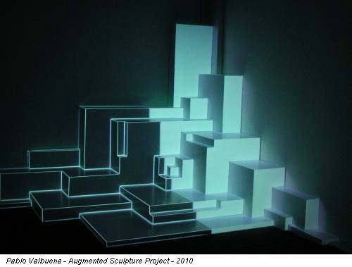 Pablo Valbuena - Augmented Sculpture Project - 2010