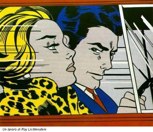 Un lavoro di Roy Lichtenstein