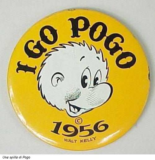 Una spilla di Pogo