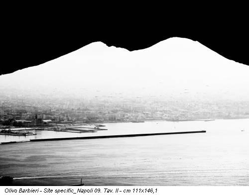 Olivo Barbieri - Site specific_Napoli 09. Tav. II - cm 111x146,1