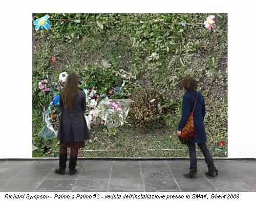 Richard Sympson - Palmo a Palmo #3 - veduta dell'installazione presso lo SMAK, Ghent 2009