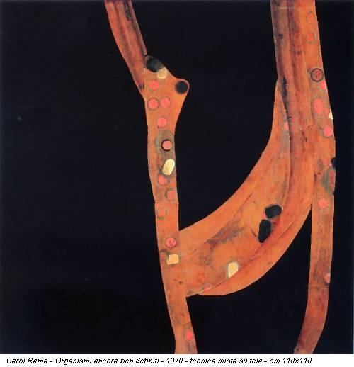 Carol Rama - Organismi ancora ben definiti - 1970 - tecnica mista su tela - cm 110x110