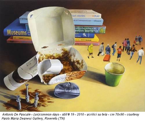 Antonio De Pascale - (un)common days - still # 19 - 2010 - acrilici su tela - cm 70x90 - courtesy Paolo Maria Deanesi Gallery, Rovereto (TN)
