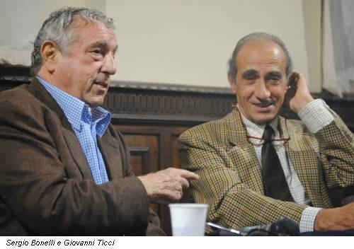 Sergio Bonelli e Giovanni Ticci