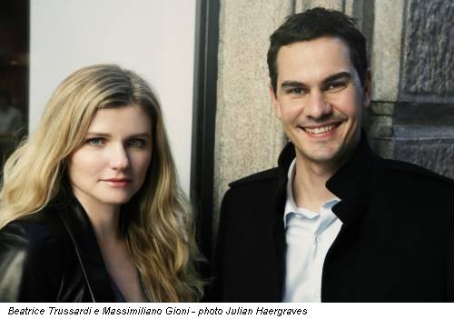 Beatrice Trussardi e Massimiliano Gioni - photo Julian Haergraves