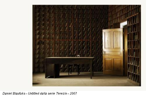 Daniel Blaufuks - Untitled dalla serie Terezin - 2007