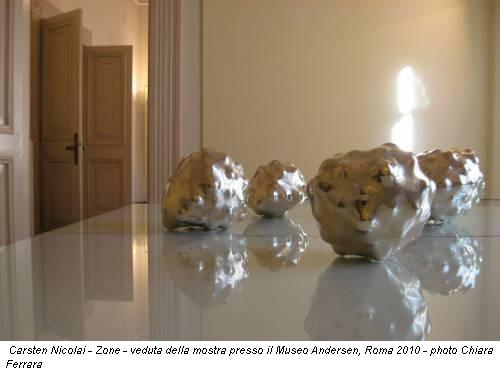 Carsten Nicolai - Zone - veduta della mostra presso il Museo Andersen, Roma 2010 - photo Chiara Ferrara