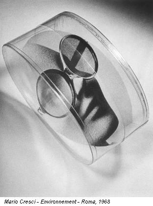 Mario Cresci - Environnement - Roma, 1968