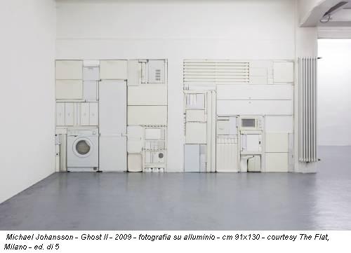 Michael Johansson - Ghost II - 2009 - fotografia su alluminio - cm 91x130 - courtesy The Flat, Milano - ed. di 5